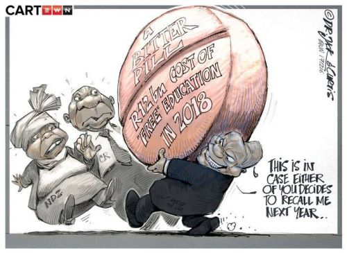 '20171216_Dr Jack and Curtis': Africartoons.com